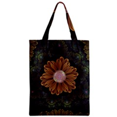 Abloom In Autumn Leaves With Faded Fractal Flowers Classic Tote Bag by jayaprime