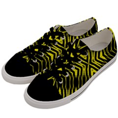 X Spots Mark Men s Low Top Canvas Sneakers by MRTACPANS