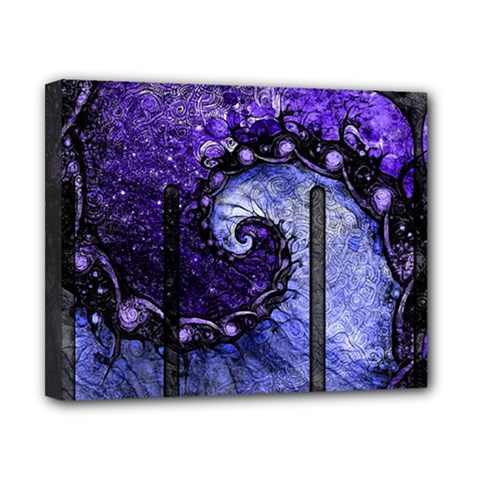 Beautiful Violet Spiral For Nocturne Of Scorpio Canvas 10  X 8  by jayaprime