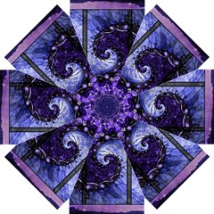 Beautiful Violet Spiral For Nocturne Of Scorpio Straight Umbrellas by jayaprime