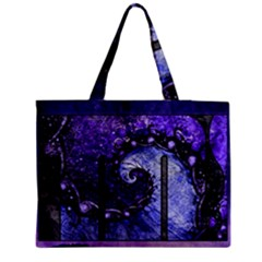 Beautiful Violet Spiral For Nocturne Of Scorpio Medium Tote Bag by jayaprime