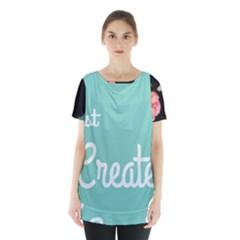 Bloem Logomakr 9f5bze Skirt Hem Sports Top by createinc