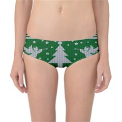 Ugly Christmas Sweater Classic Bikini Bottoms by Valentinaart