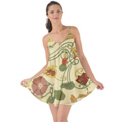 Floral Art Nouveau Love The Sun Cover Up
