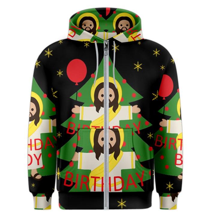 Jesus - Christmas Men s Zipper Hoodie