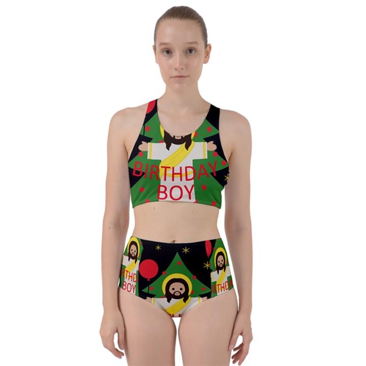 Jesus - Christmas Racer Back Bikini Set