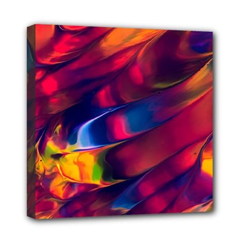 Abstract Acryl Art Mini Canvas 8  X 8  by tarastyle