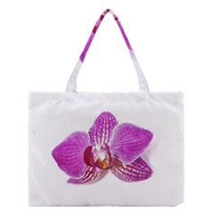 Lilac Phalaenopsis Aquarel  Watercolor Art Painting Medium Tote Bag by picsaspassion