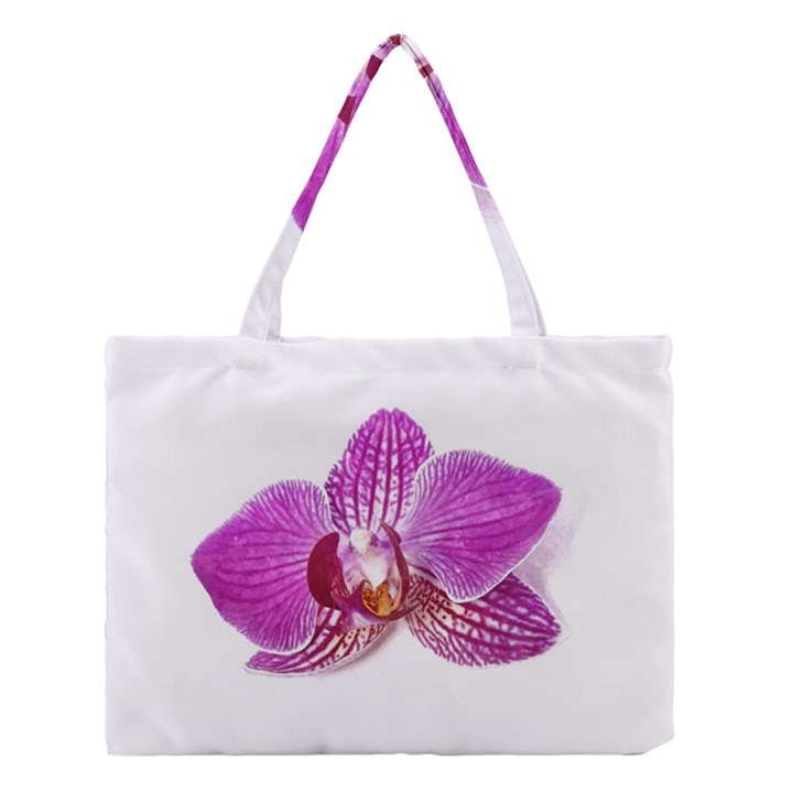 Lilac Phalaenopsis Aquarel  watercolor art painting Medium Tote Bag