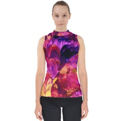 Abstract Acryl Art Shell Top
