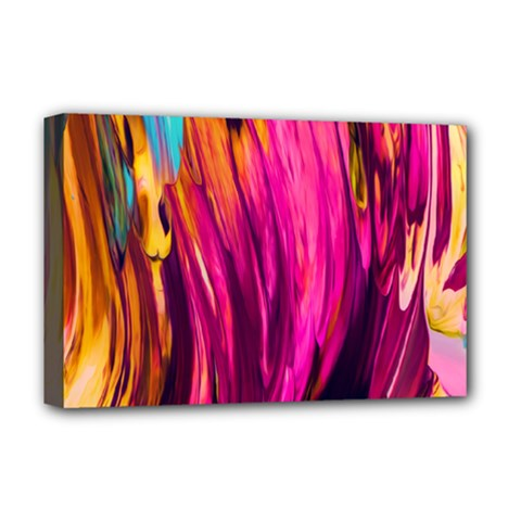 Abstract Acryl Art Deluxe Canvas 18  X 12   by tarastyle