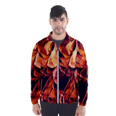 Abstract Acryl Art Wind Breaker (men)