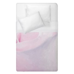 Rose Pink Flower, Floral Aquarel   Watercolor Painting Art Duvet Cover (single Size) by picsaspassion