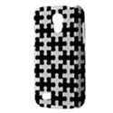 PUZZLE1 BLACK MARBLE & WHITE LINEN Galaxy S4 Mini View3
