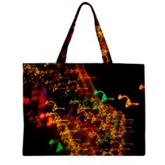Christmas Tree Light Color Night Zipper Mini Tote Bag by Mariart
