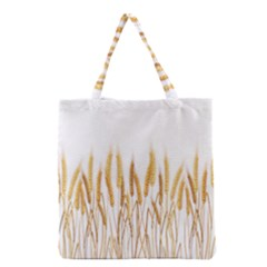 Wheat Plants Grocery Tote Bag by Mariart