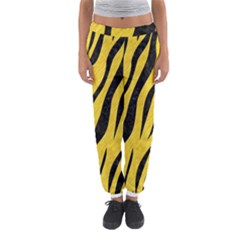 Skin3 Black Marble & Yellow Colored Pencil Women s Jogger Sweatpants by trendistuff
