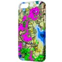 Painting Map Pink Green Blue Street Apple iPhone 5 Classic Hardshell Case View3