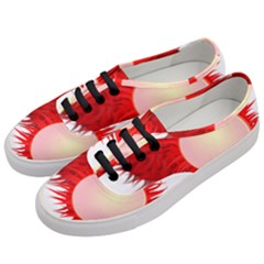 Rambutan Fruit Red Sweet Women s Classic Low Top Sneakers by Mariart