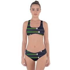 Stock Illustration Rendering Seven Volume Criss Cross Bikini Set by Mariart