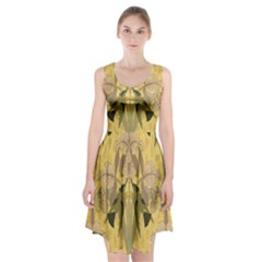 Art Nouveau Racerback Midi Dress
