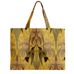 Art Nouveau Zipper Medium Tote Bag by 8fugoso