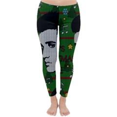 Elvis Presley   Christmas Classic Winter Leggings