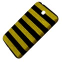 STRIPES2 BLACK MARBLE & YELLOW LEATHER Samsung Galaxy Tab 3 (7 ) P3200 Hardshell Case  View4