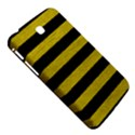 STRIPES2 BLACK MARBLE & YELLOW LEATHER Samsung Galaxy Tab 3 (7 ) P3200 Hardshell Case  View5