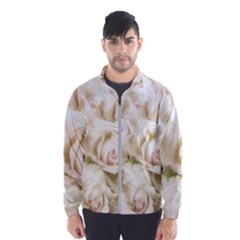 Pastel Roses Antique Vintage Wind Breaker (men)