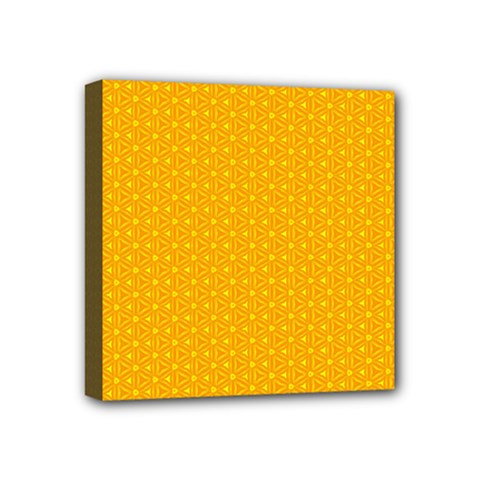Texture Background Pattern Mini Canvas 4  X 4