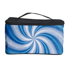 Prismatic Hole Blue Cosmetic Storage Case by Mariart