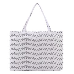Tattoos Transparent Tumblr Overlays Wave Waves Black Chevron Medium Tote Bag by Mariart