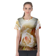 Roses Vintage Playful Romantic Women s Sport Mesh Tee by Celenk