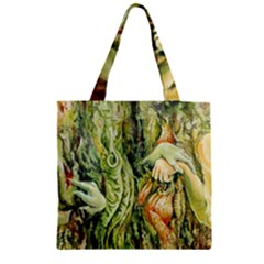 Chung Chao Yi Automatic Drawing Zipper Grocery Tote Bag by Celenk