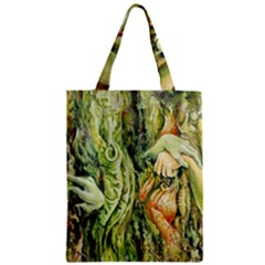 Chung Chao Yi Automatic Drawing Zipper Classic Tote Bag by Celenk