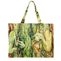 Chung Chao Yi Automatic Drawing Zipper Large Tote Bag by Celenk