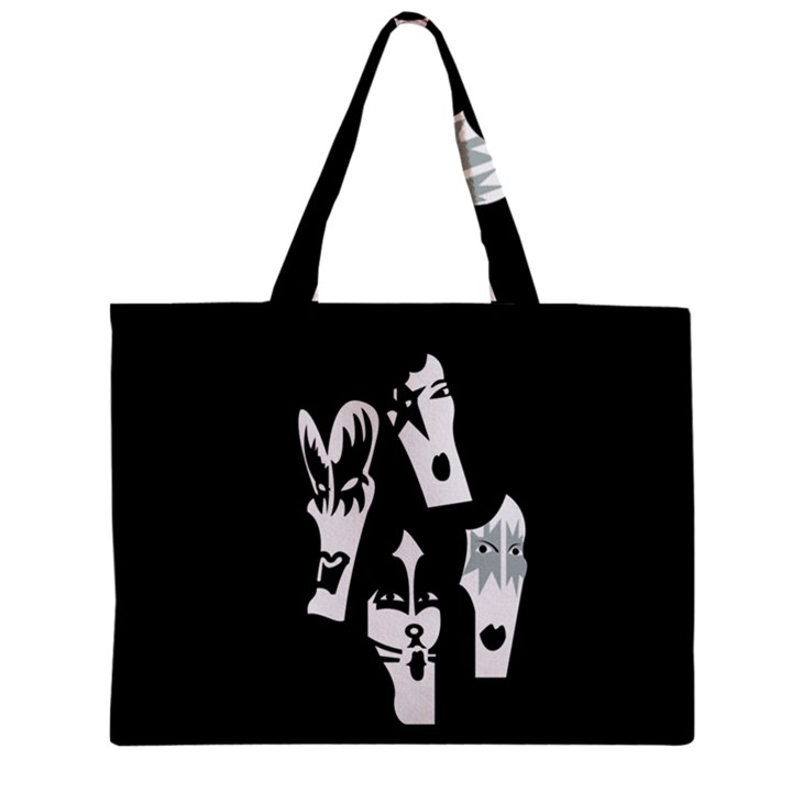 Kiss Band Logo Zipper Mini Tote Bag