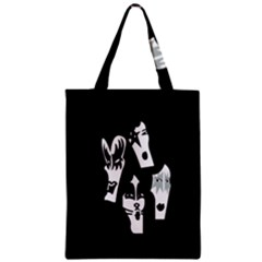 Kiss Band Logo Zipper Classic Tote Bag