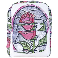 Beauty And The Beast Rose Full Print Backpack by Celenk
