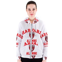 Harvard Alumni Just Kidding Women s Zipper Hoodie by Celenk