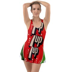 Fresh Up With  7 Up Bottle Cap Tin Metal Swimsuit