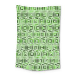 Classic Blocks,green Small Tapestry by MoreColorsinLife