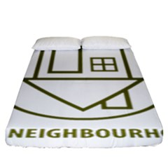 The Neighbourhood Logo Fitted Sheet (king Size) by Celenk