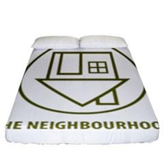 The Neighbourhood Logo Fitted Sheet (california King Size) by Celenk