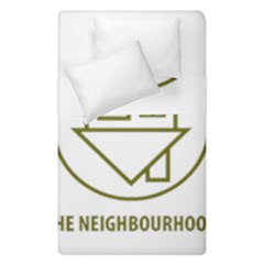 The Neighbourhood Logo Duvet Cover Double Side (single Size) by Celenk