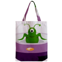 Ufo Classic Tote Bag by Celenk