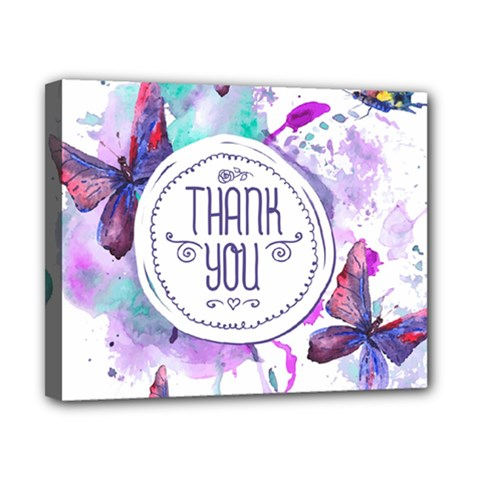 Thank You Canvas 10  X 8  by Celenk