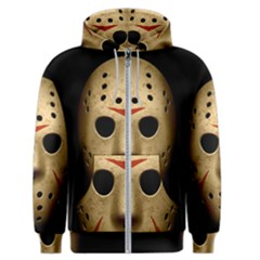 Jason Hockey Goalie Mask Men s Zipper Hoodie by Celenk