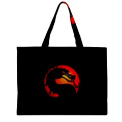 Dragon Zipper Mini Tote Bag